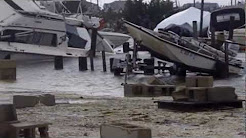 Hurricane Sandy, South Green st. Maritime Marine Tuckerton nj.