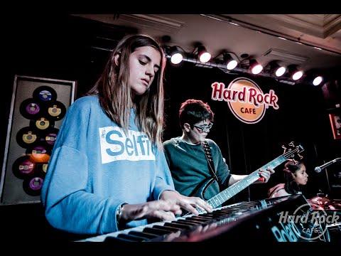 Niños de la Escuela de Música Creativa participan en 'Kids Rock'  de Hard Rock Cafe