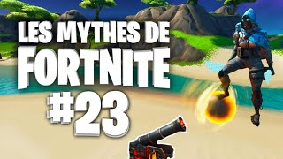 ROCKET RIDE UN BOULET DE CANON ? | Mythes de Fortnite - épisode 23 feat. Ionix
