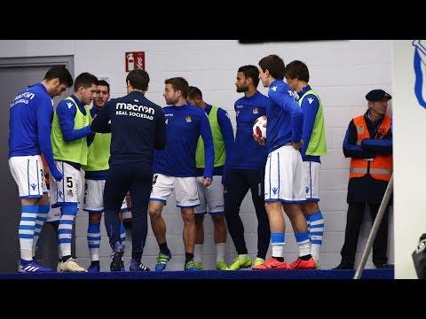 Tunnel Cam Copa: Real Sociedad (2-2) Real Betis 17/01/2019