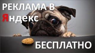 видео Разместить Рекламу на Яндексе