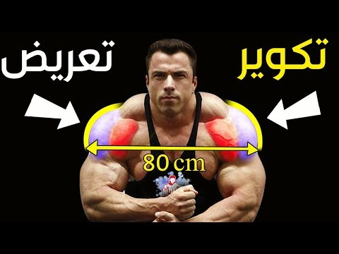 تمارين استهداف جميع زوايا عضلة اﻷﻛﺘﺎﻑ (كتف) + شرح مناطق مستهدفة - Shoulder Muscle