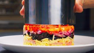 Голодным смотреть нельзя!!! 3 рецепта салата, которые съедаются первыми!