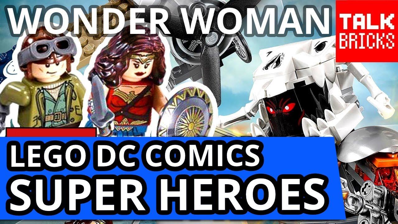 Wonder Woman Lego Set