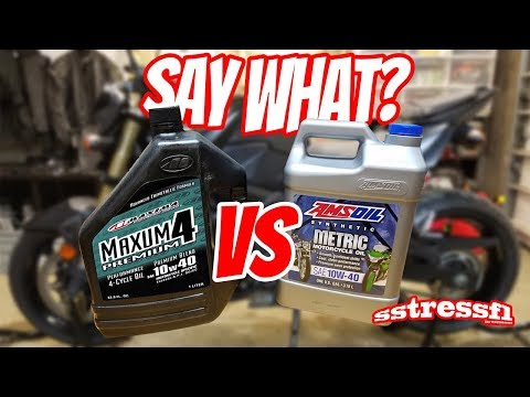 Say WHAT? Oil Evaporation? Non-Synthetic VS Full Synthetic Oil | Suzuki GSX-S750