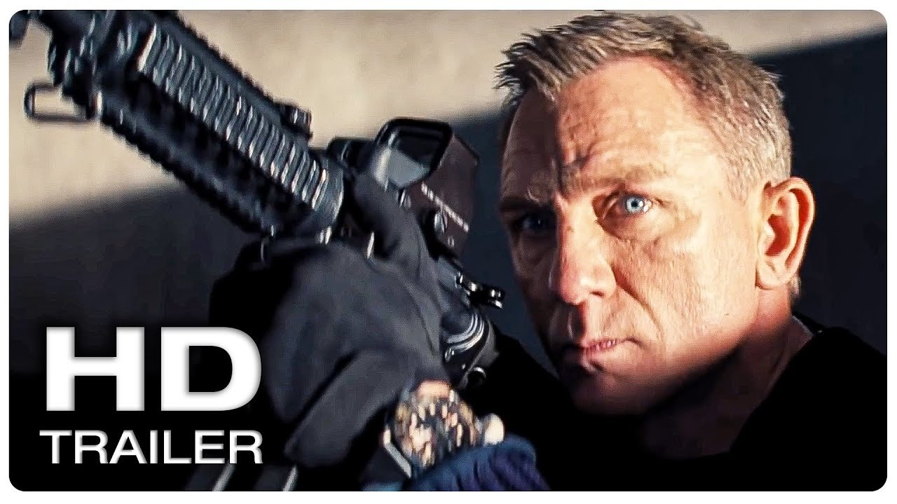 James Bond 007 No Time To Die Trailer 1 Official New 2020 Daniel Craig Action Movie Hd