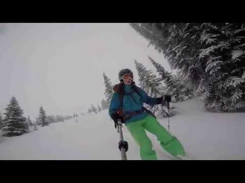 Stanley Mitchell Hut Ski Weekend