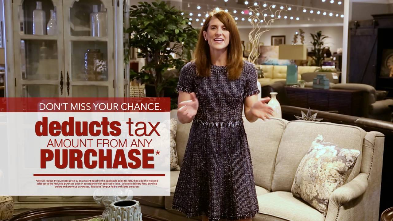 Crowley Furniture Tax Amount Discount 2016 Laura Youtube