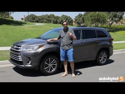 2018 Toyota Highlander XLE AWD Test Drive Video Review
