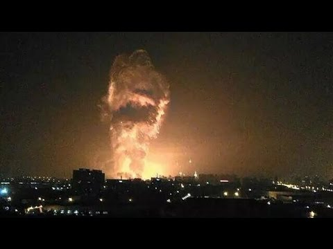 Massive Explosion rocks China port city Tianjin