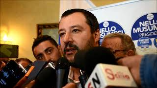Salvini su elezioni regionali in Sicilia