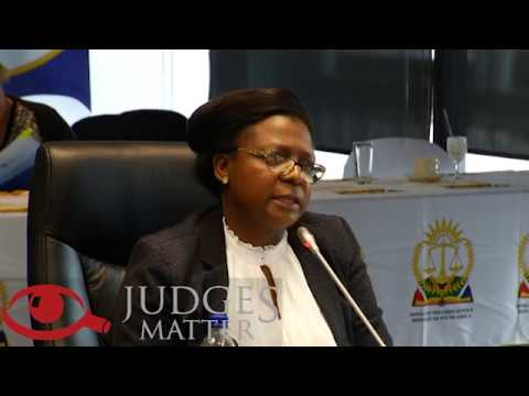 JSC interview of Ms S Chesiwe for the Free State High Court (Judges Matter)