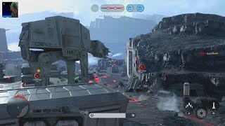 Star Wars Battlefront - Walker Assault Gameplay PS4 60fps (No Commentary)