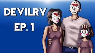 Delirious protects his family (Devilry) Ep.1 Really Creepy game!