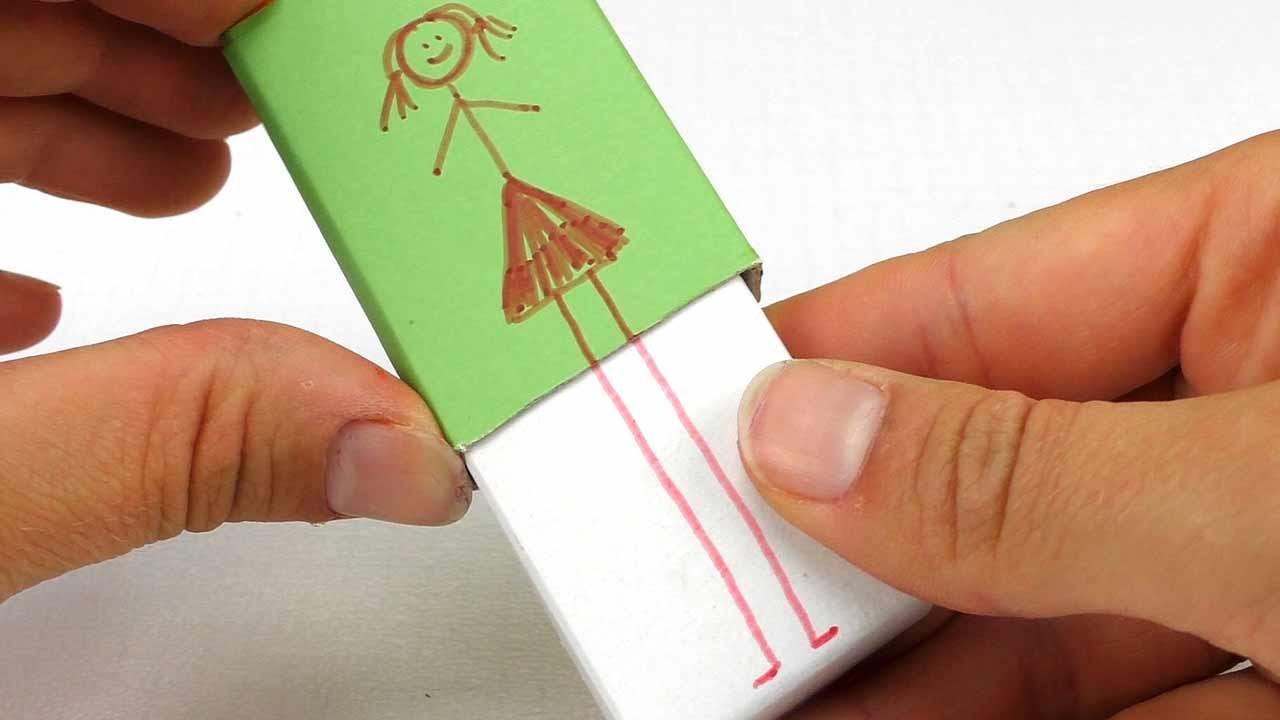 Basteln Mit Streichholzschachteln Lustige Streichholzschachtel Als