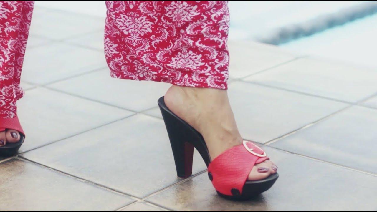 b9ea88e92e2b iSole Interchangeable Ladies Sandals (Danica - Heels) - YouTube
