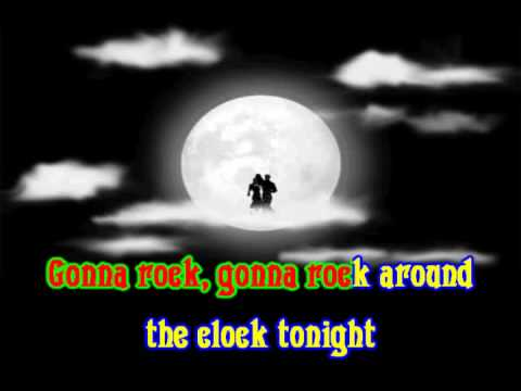 Bill Haley - Rock Aroud The Clock KARAOKE