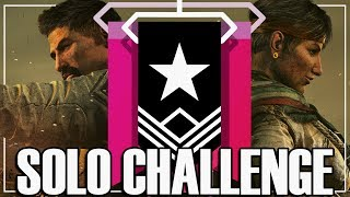 Solo To Champion: The Grind Begins - Rainbow Six Siege