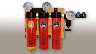 Подготовка воздуха для работы с краскопультом. ITALCO 99.998