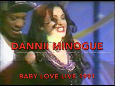 Dannii Minogue Baby Love - Live 1991 UK TV