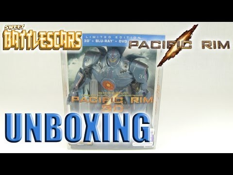 PACIFIC RIM COLLECTOR'S EDITION BLUE RAY - UNBOXING!!