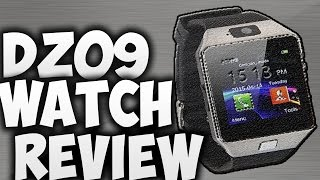 dz09 smart watch review 2016