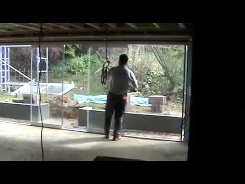 Large Opening Patio Door Frameless Double Glazing