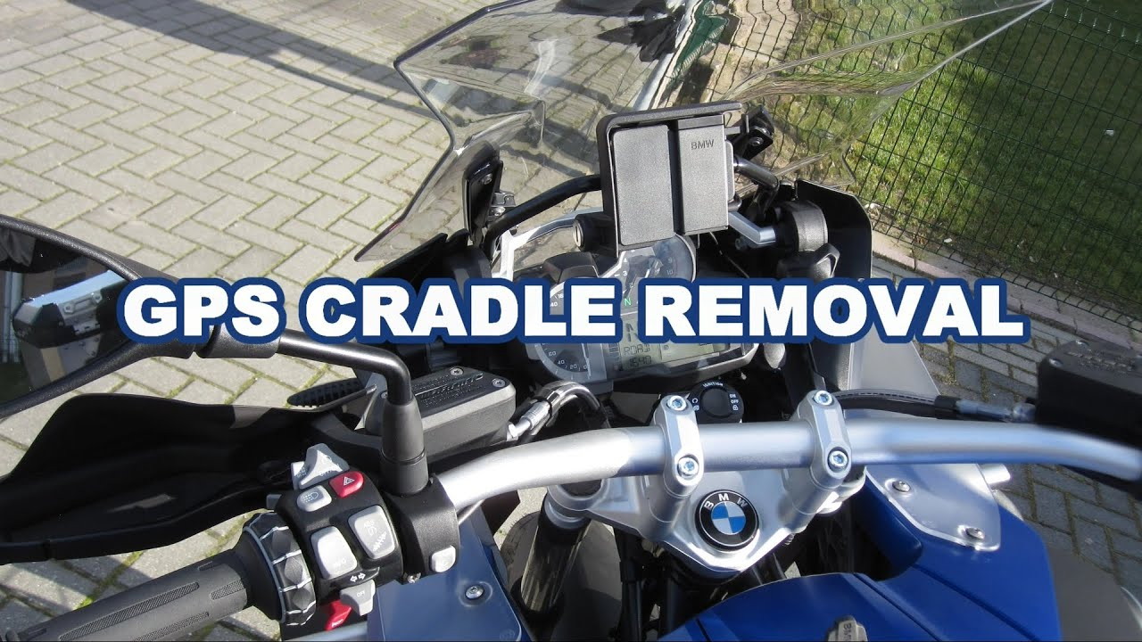 bmw r1200gs adventure gps cradle removal youtube rh youtube com BMW R1200RT BMW R1200GS