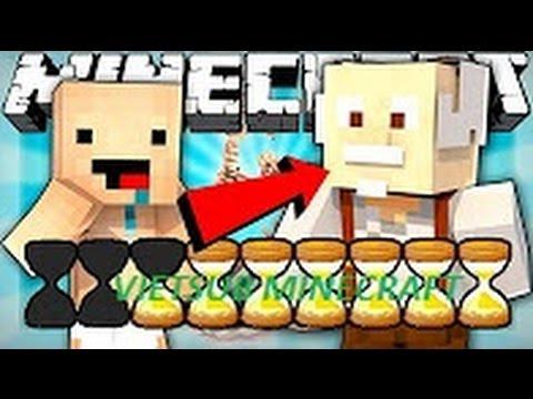 [Vietsub Minecraft ExplodingTNT] Nếu thanh tuổi thọ được cho vào Minecraft
