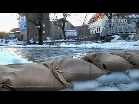 Hochwasser in Thüringen - YouTube