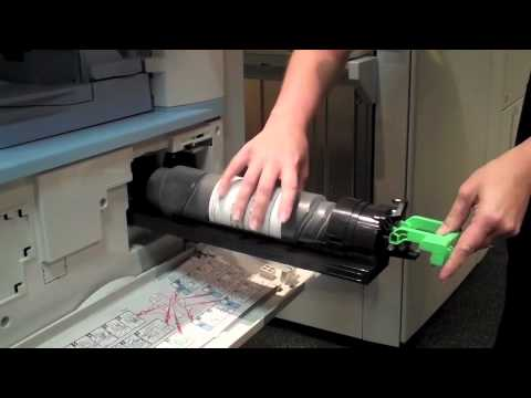 How to Replace Toner in your Ricoh B&W Copier - YouTube