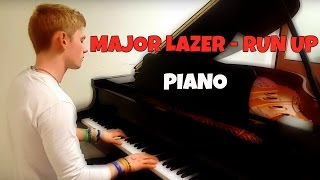 Major Lazer - Run Up ft. PARTYNEXTDOOR & Nicki Minaj | Tishler Piano Cover