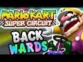 Mario Kart Super Circuit BACKWARDS!
