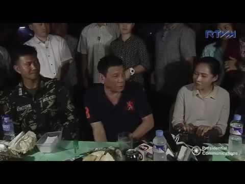 FULL VIDEO: President Rodrigo Duterte Ambush Interview at Davao City (Aug 25)