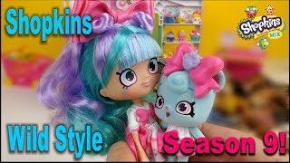 Shopkins Season 9 Wild Style Unboxing! Розпакування+мультик Шопкинс 9 сезону!