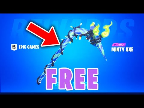 *FREE* MERRY MINT PICKAXE - How To Get Fortnite Minty Pickaxe!