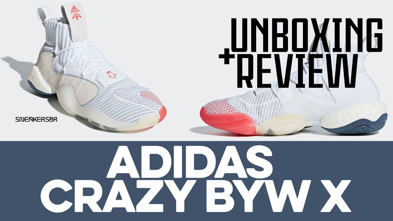 64041b75806b6 UNBOXING+REVIEW - adidas Crazy BYW X - YouTube