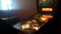 ROZ playing GNR pinball @ Blue boys subs on university blvd in Jacksonville FL