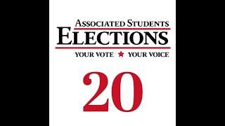 Associated Students Presidential Debate 2020