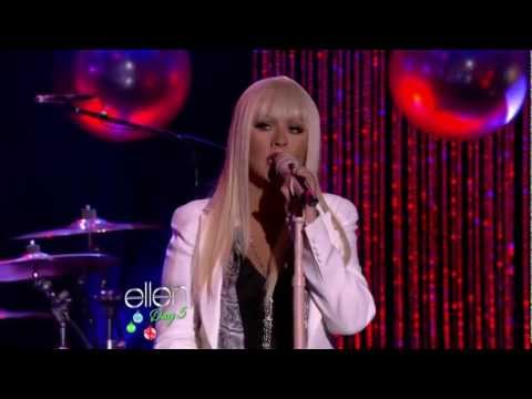 HD Christina Aguilera Blake Shelton Just A Fool Live ELLEN