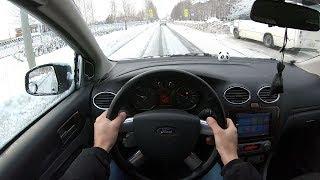 2011 Ford Focus POV TEST Drive