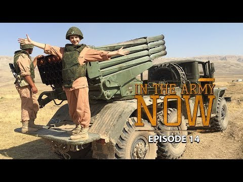 Surviving an MRLS 'Grad' attack – In the Army Now Ep.14