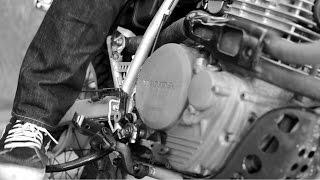 motorcycle startup. 1983 honda xl600r