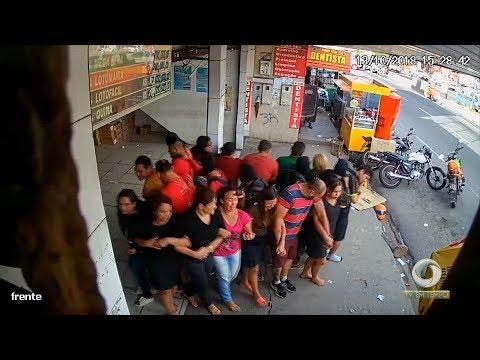 Polícia ouve alguns dos reféns que estavam na loteria assaltada