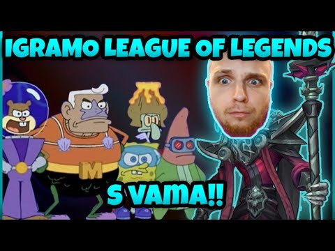 IGRAMO League Of Legends RANKED EGAMER PRASICA - Fortnite Minty Custom Games Sutra U 20:00