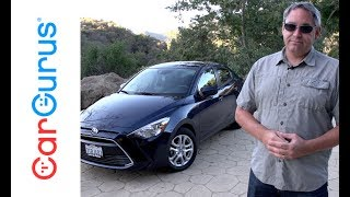 2017 Toyota Yaris IA | CarGurus Test Drive Review