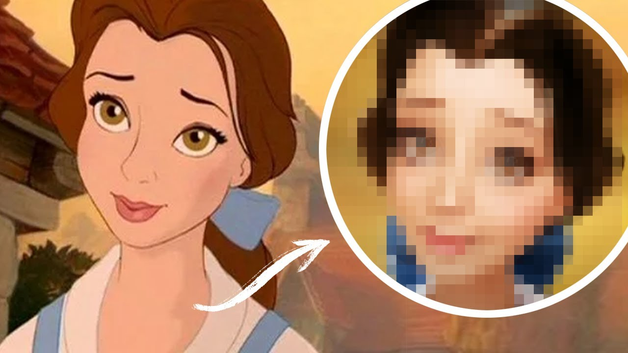 Belle In Real Life Disney Princess Untooning Beauty And The