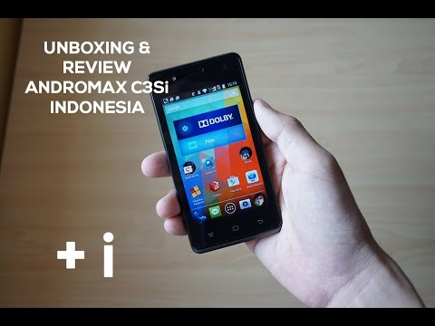 Unboxing Review Smartfren Andromax C3si Youtube