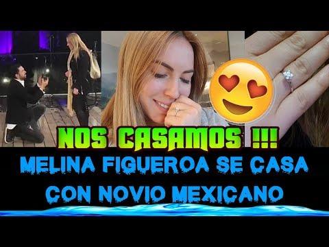 MELINA FIGUEROA SE CASA CON SU NOVIO MEXICANO