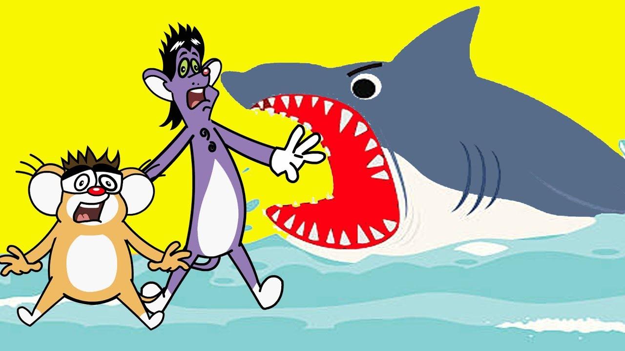 Rat-A-Tat |'Baby Shark & Hungry Shark + Underwater Cartoons'| Chotoonz Kids Funny Cartoon Videos